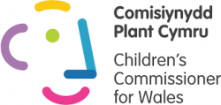 Childrens' Commissioner for Wales logo
