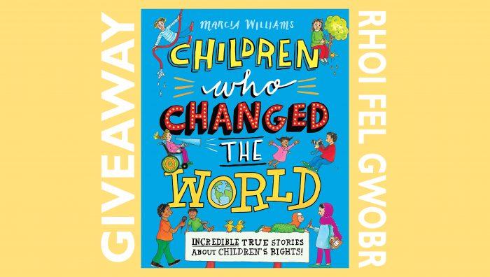 World Children's Day book giveaway - Rhoi fel Gwobr Diwrnod Plant y Byd